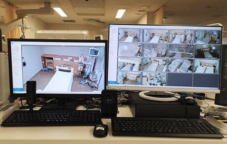日本最大級の遠隔観察体制 神戸・中央市民病院